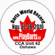 1.25 inch button darts world record oshawa